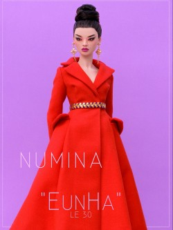 Lady in red - EunHa by NuminaDoll