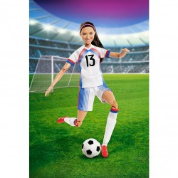 ​Barbie Devoted New Doll to Soccer Player